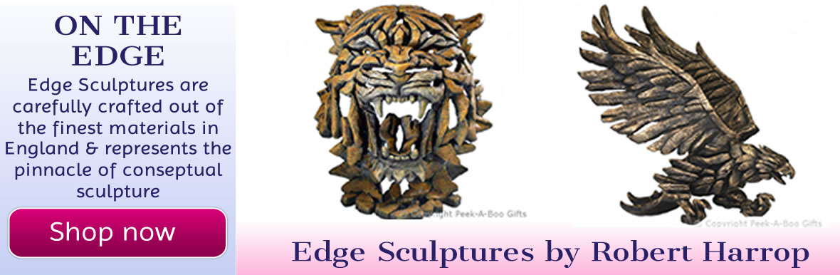 Edge Sculptures by Robert Harrop
