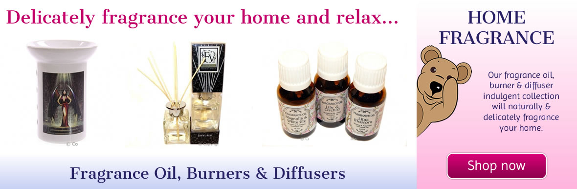 Delicately Fragrance your Home with Our Oils, Burners & Diffusers