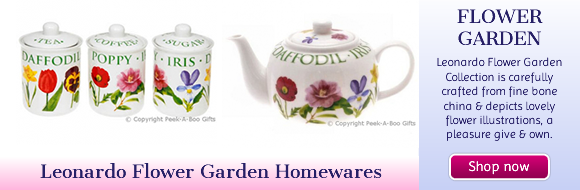 Leonardo Flower Garden Collection Fine China Mugs-Jars-Jugs-Teapots