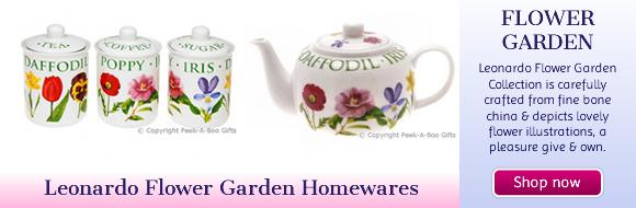 Leonardo Flower Garden Collection Fine China Mugs-Jars-Jugs-Teapots