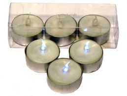 Safety LED Tealight Candles 3 Pack