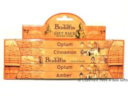 Buddha Scented Incense Stick Standard 5 Assorted 40 Piece Gift Set