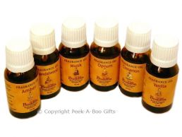 Buddha Essential Fragrance Oil 6 Assorted 15ml Bottle