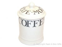 Emma Bridgewater Black Toast 1 Pint Coffee Storage Jar with Seal