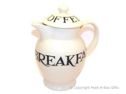 Emma Bridgewater Black Toast Coffee Pot with Lid - 23cm