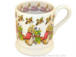 Emma Bridgewater Beatrix Potter Flopsy Rabbit 1/2 Pint Mug