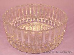Montparnasse Crystal D'Arc Glass Fruit Bowl