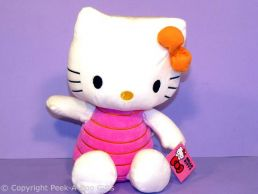 Hello Kitty 12'' Sitting Soft Toy in Pink Outfit