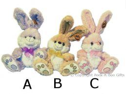12.5'' Big Foot Bunny Rabbit Super Soft Pile Soft Toy