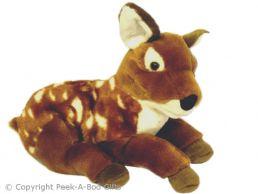 British Wildlife Deer Fawn Soft Toy