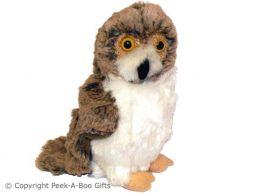 British Wildlife Owl Soft Toy