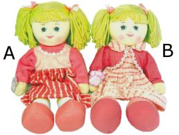 Plush Traditional Dressed Cloth Rag Doll 50cm Series 1