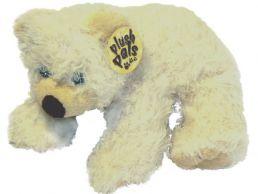 Plush Polar Bear 25cm Soft Toy with Long Pile Fur