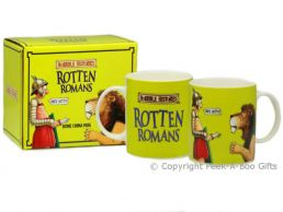 Horrible Histories Rotten Romans Fine Bone China Boxed Mug