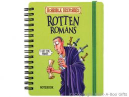 Horrible Histories Rotten Romans Notebook with Elastic Strap