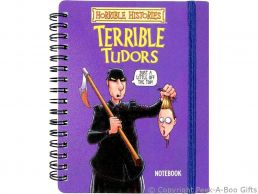 Horrible Histories Terrible Tudors Notebook with Elastic Strap