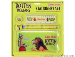 Horrible Histories Rotten Romans Stationery School Kit