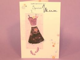 Mum Birthday Card Special Dress-C75