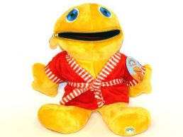 12'' Zippy in Red Dressing Gown Rainbow Soft Toy