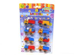8 pack Mini Assorted Lorry Party Favours