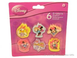 Character Erasers Disney Minnie Mouse & Friends 6 pack