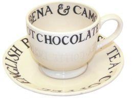 Emma Bridgewater Black Toast Tea Cup & Saucer - 8.5cm
