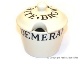 Emma Bridgewater Black Toast Sugar Pot with Lid
