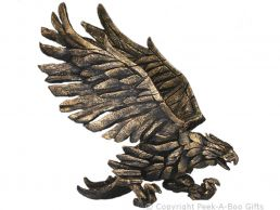 Edge Sculpture Golden Eagle Figurine