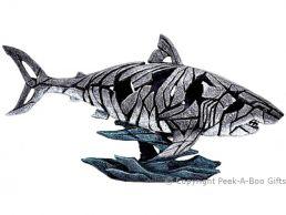 Edge Sculpture Shark Figurine