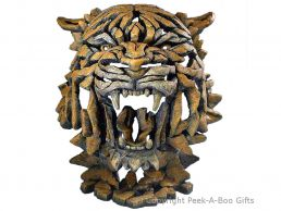 Edge Sculpture Tiger Bust
