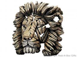 Edge Sculpture Savannah Lion Bust