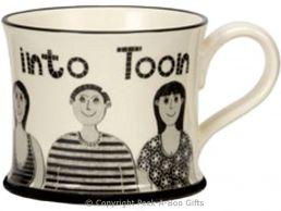 Moorland Pottery Geordie Ware We're Gannin In To Toon Mug