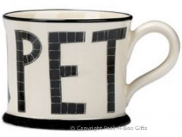 Moorland Pottery Geordie Ware I Love U Pet Mug