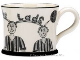 Moorland Pottery Geordie Ware Howay the Lads Mug