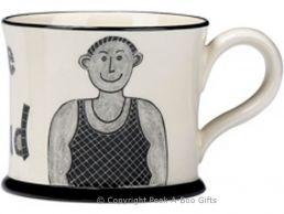 Moorland Pottery Geordie Ware Bonny Lad Mug