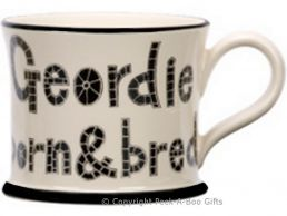 Moorland Pottery Geordie Ware Geordie Born & Bred Mug