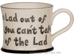 Moorland Pottery Geordie Ware Lad Out of Newcastle Mug