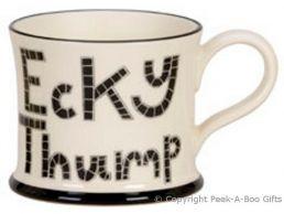 Moorland Pottery LancashireWare Ecky Thump Mug