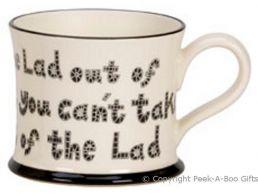 Moorland Pottery LancashireWare Lad Out of Lancashire Mug