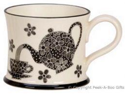 Moorland Pottery LancashireWare A Lurvely Cuppa Tae Mug