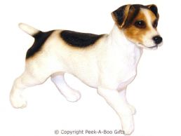 Standing Jack Russell Terrier Medium Dog Figurine by Leonardo