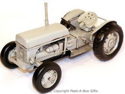 Nostalgic Tin Ferguson Grey T20 Tractor Model