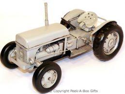 Nostalgic Tin Ferguson Grey T20 Tractor Model