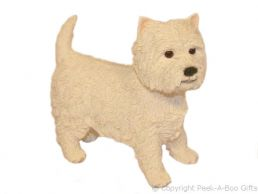 Standing Westie-West Highland Terrier Medium Dog Figurine by Leonardo