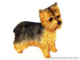 Standing Yorkie-Yorkshire Terrier Medium Dog Figurine by Leonardo