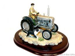 Leonardo Welcome Home Grey Ferguson T20 Tractor Country Life Figurine