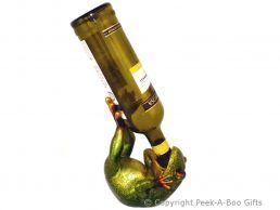 Novelty Resin Laying Frog Boozer Wine-Spirit Bottle Holder by Leonardo