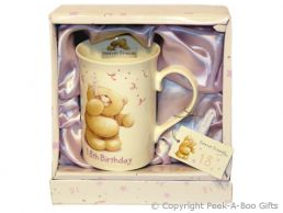 Forever Friends 18th Birthday Gift Mug