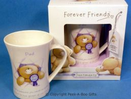 Forever Friends No. 1 Dad Boxed China Gift Mug by Leonardo