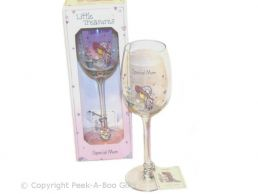 Little Treasures Mum Gift Wine Glass by Annabel Spencely